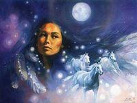 NativeAmericanWomanInFullMoonNightSky1024x768_large